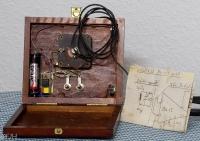 Zigarrenkisten Radio