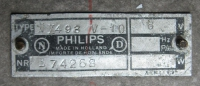Philips NX493 Autoradio